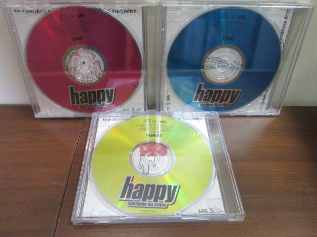CD3枚のみ サザンオールスターズ 「happy」 _画像2