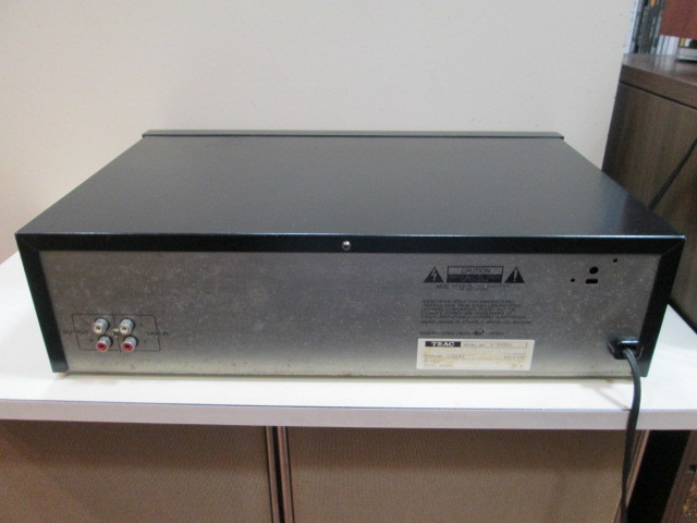 TEAC ティアック w-880rx ダブルリバース カセットデッキ W-880RX ジャンク_画像8
