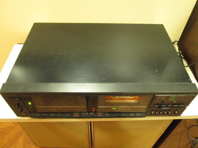 TEAC ティアック w-880rx ダブルリバース カセットデッキ W-880RX ジャンク_画像5