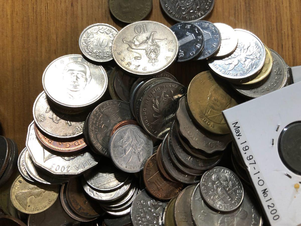 外国コイン まとめて放出1.5キロ以上_画像2