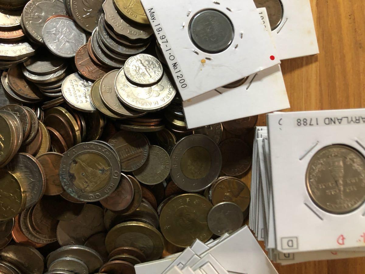 外国コイン まとめて放出1.5キロ以上_画像8