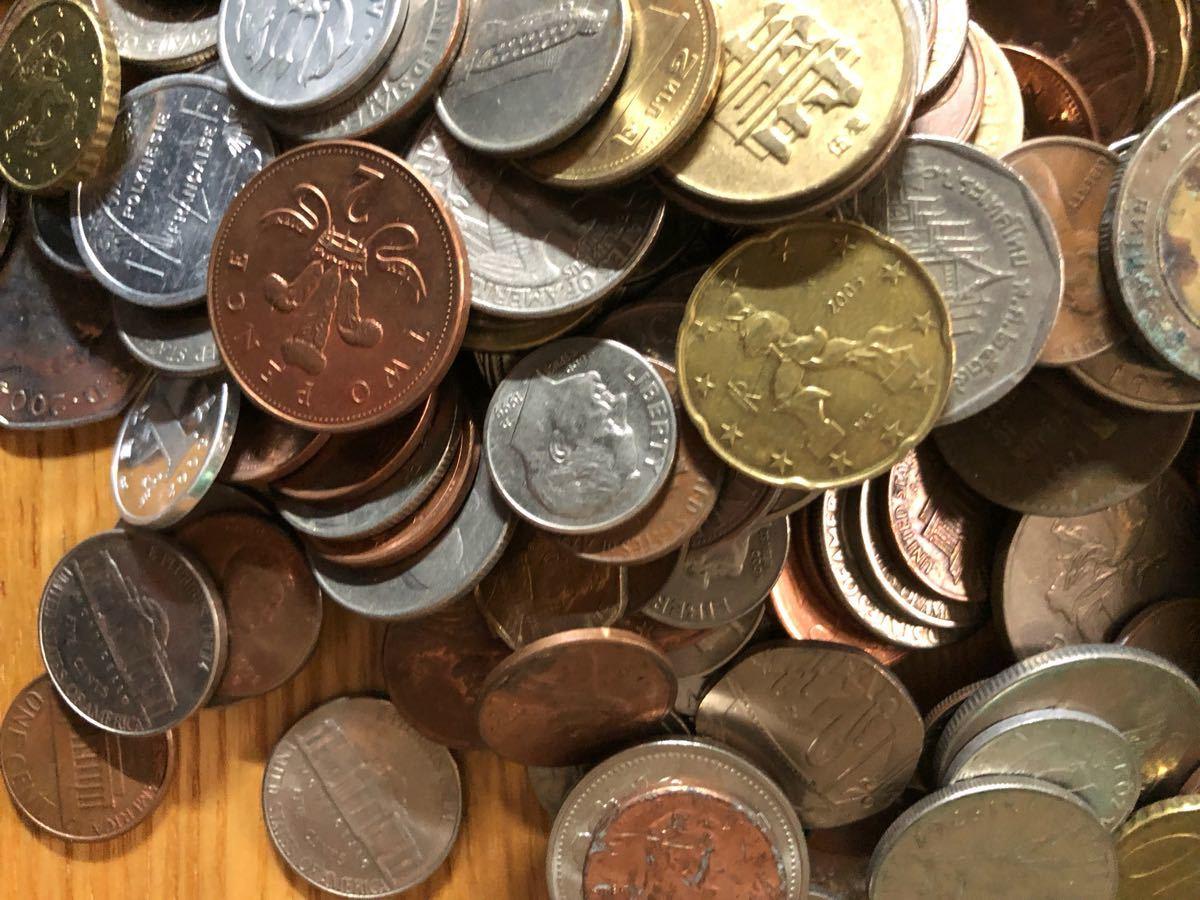 外国コイン まとめて放出1.5キロ以上_画像6