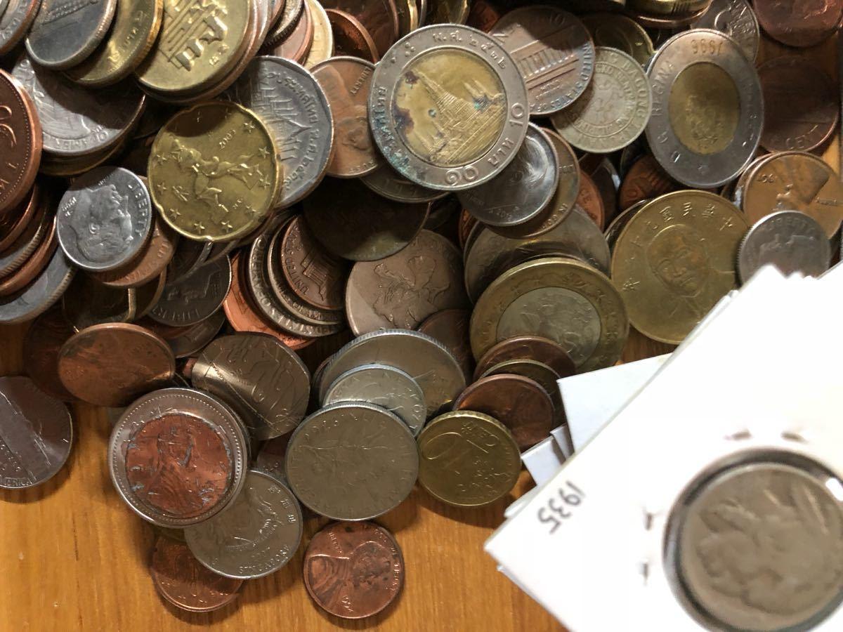 外国コイン まとめて放出1.5キロ以上_画像7