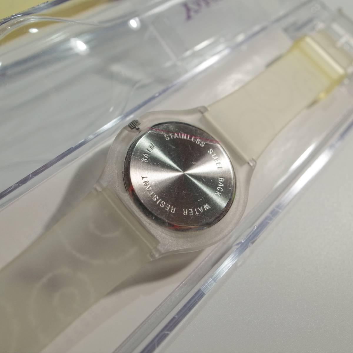 swatch 非売品 スウォッチ SWATCH×Yahoo!JAPAN コラボ時計 ヤフージャパン デッドストック 未使用 2点セット_画像2