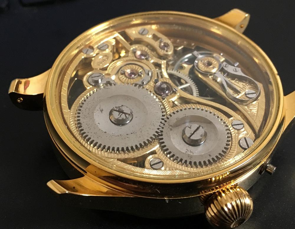 下取&値引き交渉あり 1889年 IWC 懐中時計のムーブメント使用 カスタム時計 フリーメイソンフルエングレービングフルスケルトン_画像8