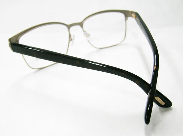 TOM FORD 正規品 眼鏡フレーム FT5323-048 マットダークブラウン / ハバナ 新品 こげ茶 フルリム トムフォード_画像6