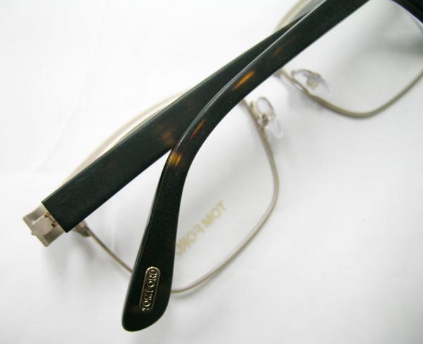 TOM FORD 正規品 眼鏡フレーム FT5323-048 マットダークブラウン / ハバナ 新品 こげ茶 フルリム トムフォード_画像5