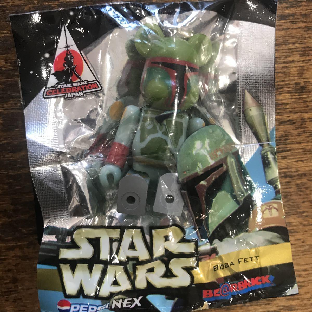 希少 ベプシ PEPSI NEX star wars スターウォーズ 未開封 ボバ・フェット(Boba Fett)ベアブリック_画像3
