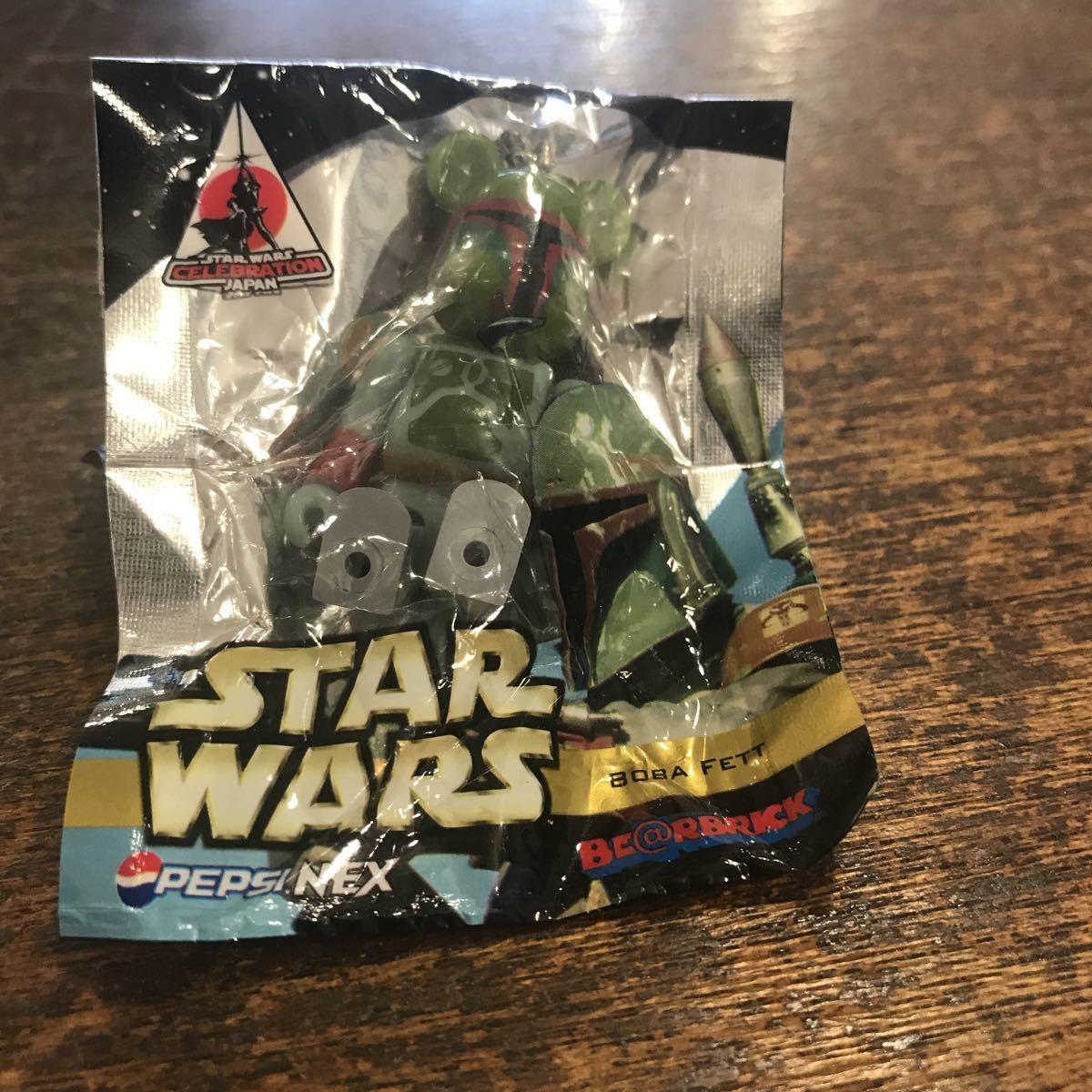 希少 ベプシ PEPSI NEX star wars スターウォーズ 未開封 ボバ・フェット(Boba Fett)ベアブリック_画像1