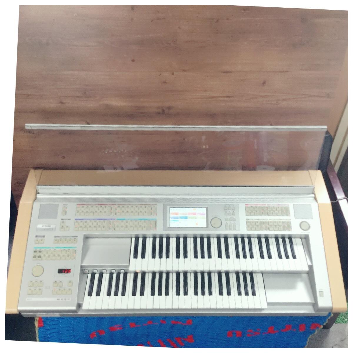 ☆ YAMAHA ヤマハ ELS-01 STAGEA ステージア エレクトーン 鍵盤 電子オルガン 楽器 演奏 キーボード 2004年製 現状品 ☆_画像2