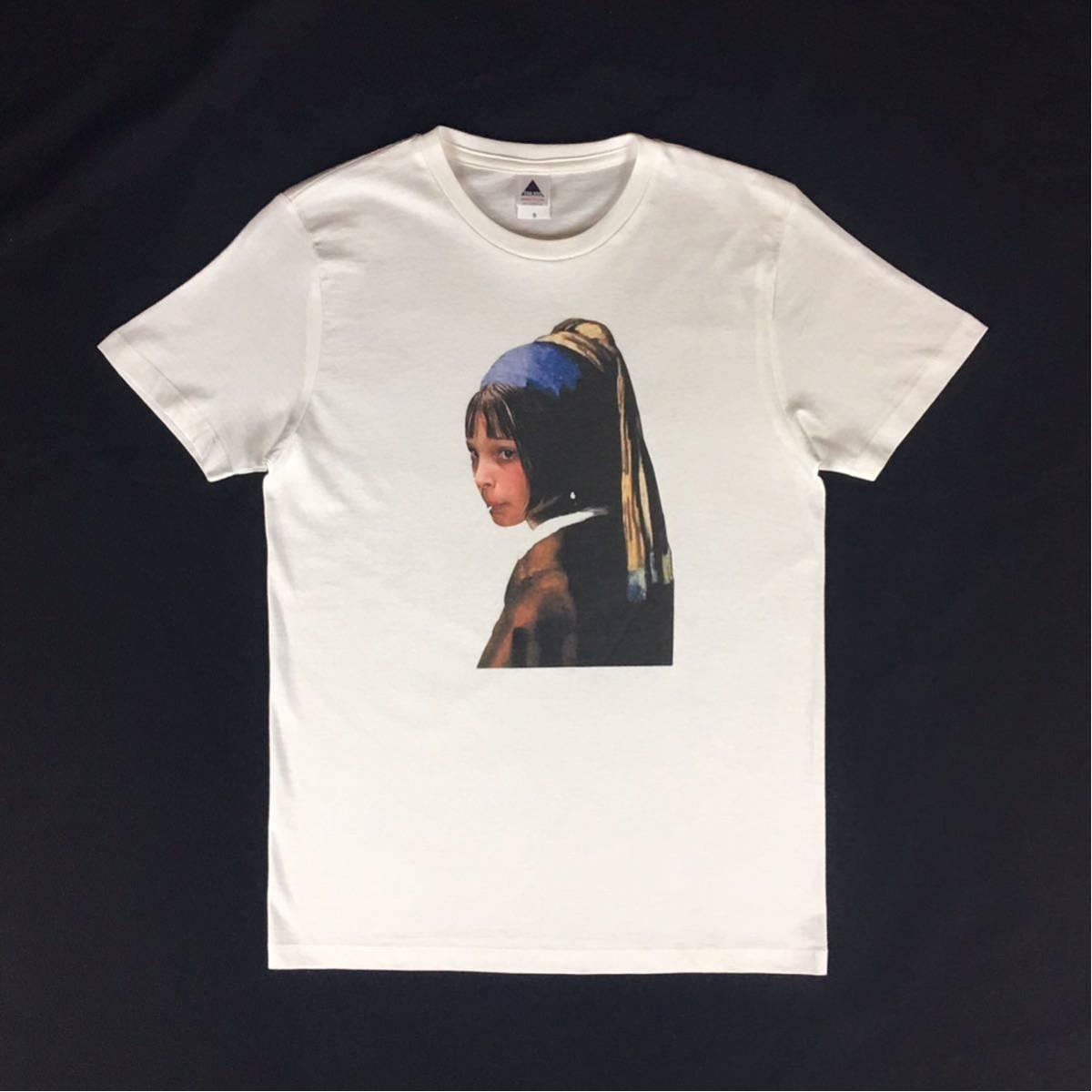 新品 映画 LEON レオン マチルダ フェルメール 真珠の耳飾りの少女 Tシャツ コラージュ デザイン S M L XL ビッグ サイズ XXL~5XL 長袖 OK_画像6