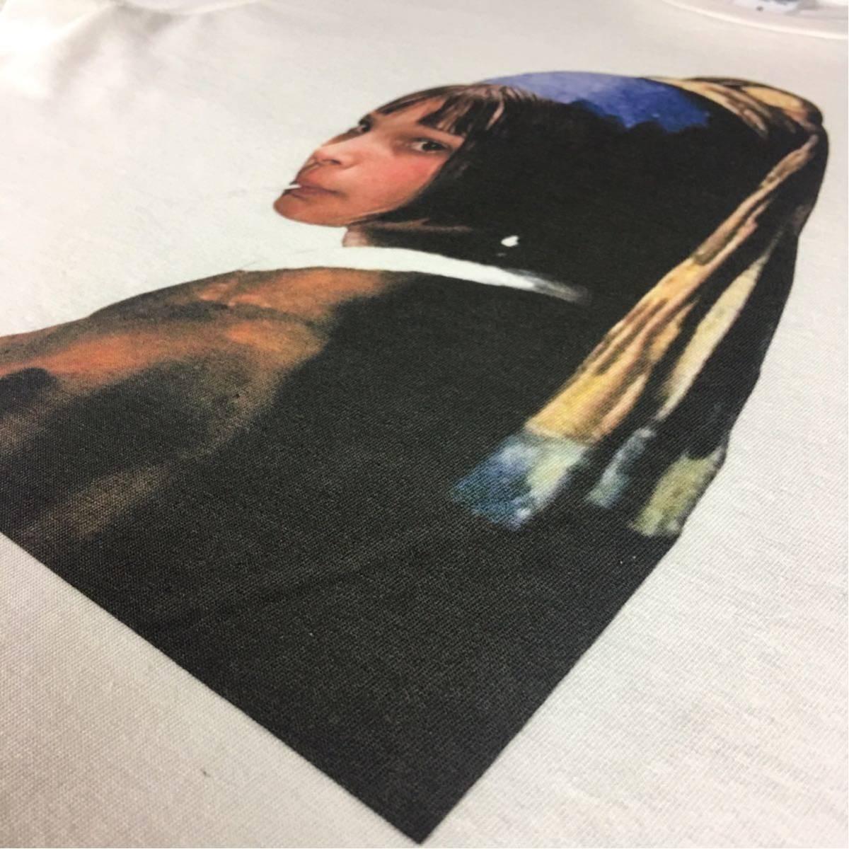 新品 映画 LEON レオン マチルダ フェルメール 真珠の耳飾りの少女 Tシャツ コラージュ デザイン S M L XL ビッグ サイズ XXL~5XL 長袖 OK_画像8