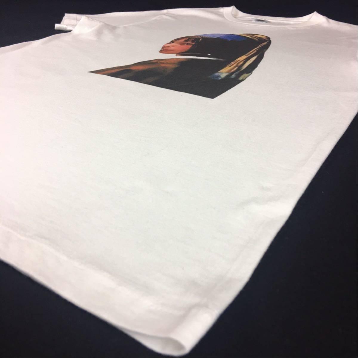 新品 映画 LEON レオン マチルダ フェルメール 真珠の耳飾りの少女 Tシャツ コラージュ デザイン S M L XL ビッグ サイズ XXL~5XL 長袖 OK_画像9