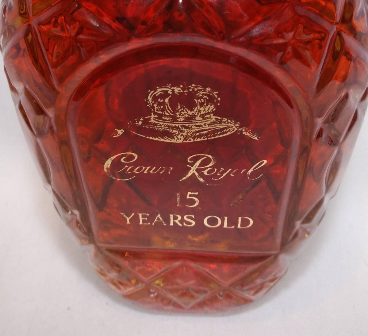 【全国送料無料】Crown Royal 15years old 40度 750ml【クラウンロイヤル15年 クラウンローヤル15年】_画像8