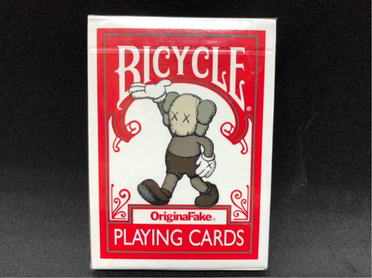 OriginalFake KAWS Bicycle Playing Card トランプ 4個セット