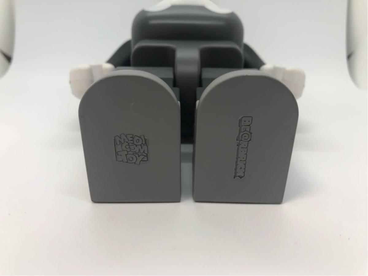 入手困難 美品 ベアブリック BE@RBRICK 400% ミッキーマウス 白黒版 モノクロ/KAWS BAPE_画像3