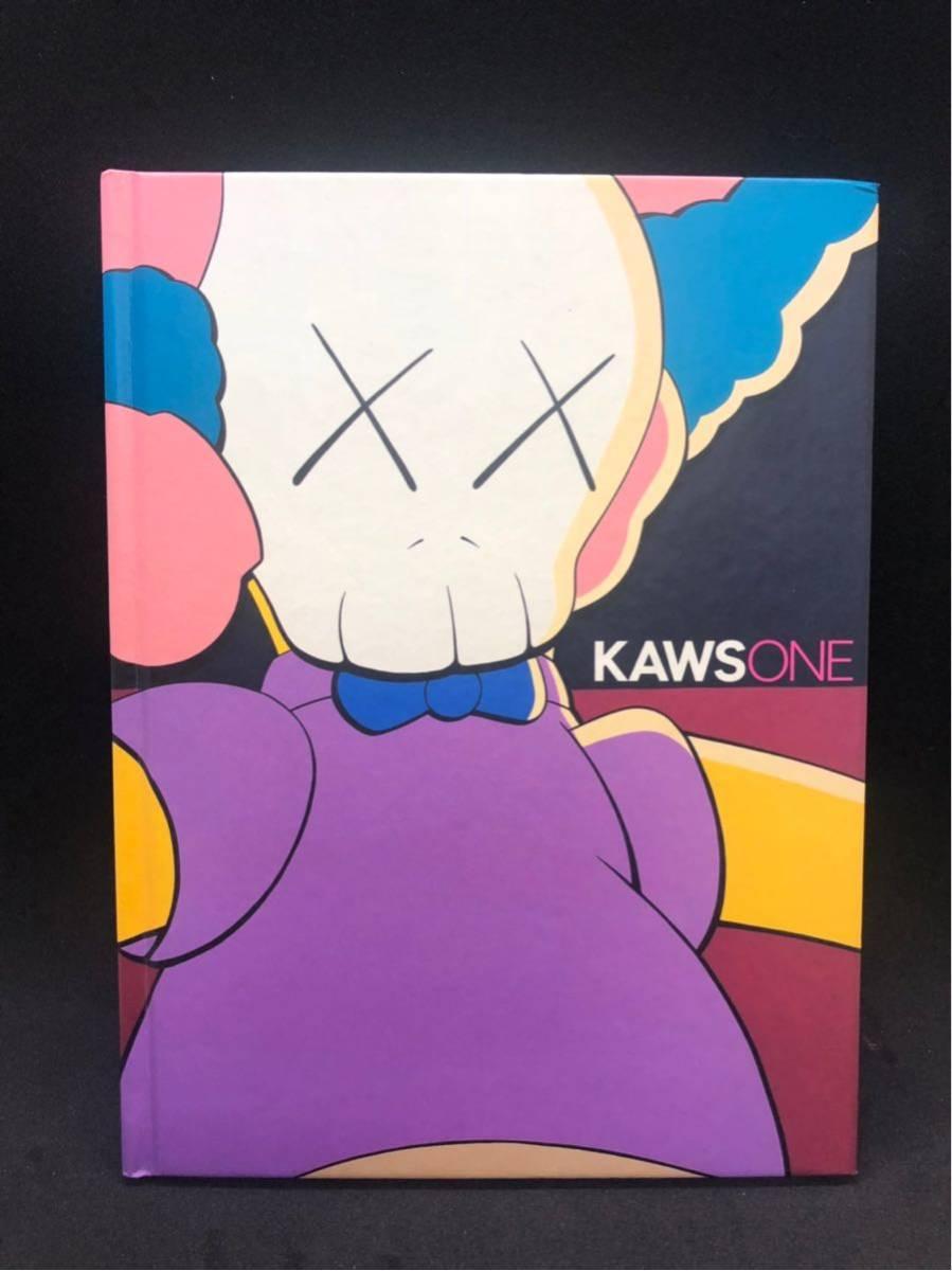 美品 カウズ 画集 絶版 KAWS ONE カウズワン リトルモア//nigo 村上隆 奈良美智 bape ベアブリック originalfake BE@RBRICK_画像1