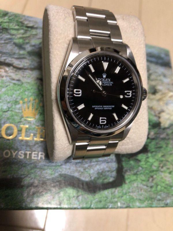 ロレックス エクスプローラー 1 114270 日本ロレックス OH済み k番_画像2