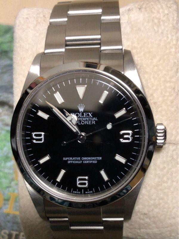 ロレックス エクスプローラー 1 114270 日本ロレックス OH済み k番