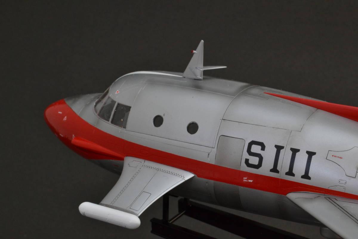 フジミ1/72ジェットビートル塗装完成品(ウルトラマン)_画像3