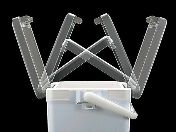 確かに軽い最軽量 シマノスペーザ ライト LC-035Mピュアホワイト_画像5
