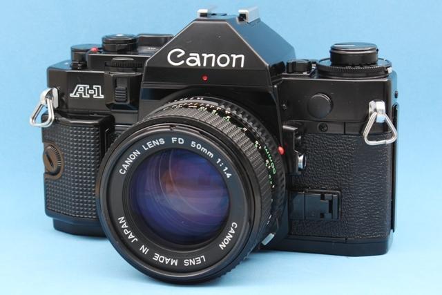 美品 Canon A-1 New FD 50mm 1:1.4 シャッター鳴きなし 露出計作動確認済み ファインダー・レンズきれい キヤノン ジャンクで_画像5