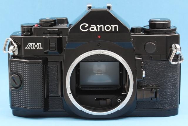 美品 Canon A-1 New FD 50mm 1:1.4 シャッター鳴きなし 露出計作動確認済み ファインダー・レンズきれい キヤノン ジャンクで_画像8