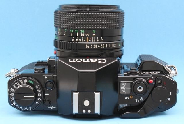 美品 Canon A-1 New FD 50mm 1:1.4 シャッター鳴きなし 露出計作動確認済み ファインダー・レンズきれい キヤノン ジャンクで_画像6