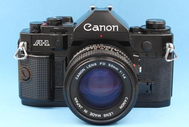 美品 Canon A-1 New FD 50mm 1:1.4 シャッター鳴きなし 露出計作動確認済み ファインダー・レンズきれい キヤノン ジャンクで_画像2