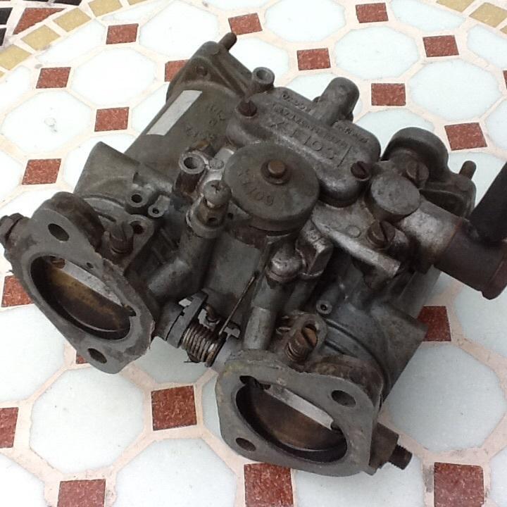 絶版 ソレックス2型 40パイ ハコスカ ケンメリシビックRS SB1 日産ブル510サニー B310 、トヨタTE27 トレノ レビン _画像3