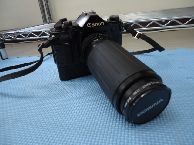 Canon/キャノン A-1 カメラ COSINA 100-300MM 1:5.6-6.7 MC MACRO Kenko MC SKYLIGHT (1B) 52mm R