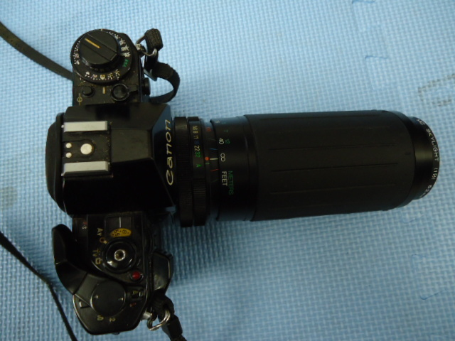 Canon/キャノン A-1 カメラ COSINA 100-300MM 1:5.6-6.7 MC MACRO Kenko MC SKYLIGHT (1B) 52mm R_画像4