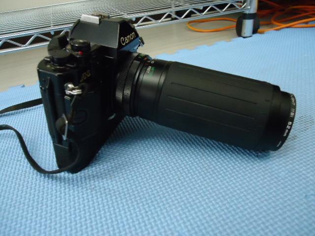 Canon/キャノン A-1 カメラ COSINA 100-300MM 1:5.6-6.7 MC MACRO Kenko MC SKYLIGHT (1B) 52mm R_画像8