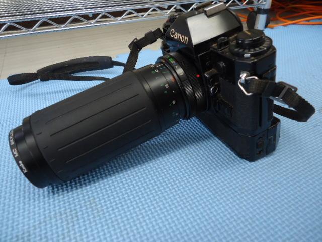 Canon/キャノン A-1 カメラ COSINA 100-300MM 1:5.6-6.7 MC MACRO Kenko MC SKYLIGHT (1B) 52mm R_画像9