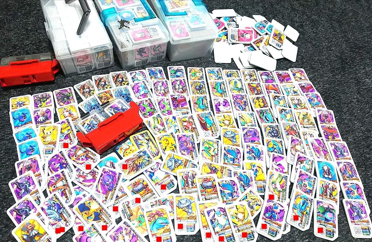 ポケモン ガオーレ まとめ売り 500枚以上 月食ネクロズマ、ソルガレオ、キュレム、グラードン、ボルケニオン、ラティオス、ホウオウ、他