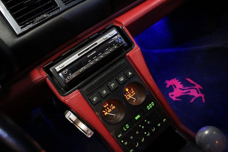 平成最後のヤフオク入札会★価格交渉歓迎、正規D車フェラーリ348ts内装レッドレザークライスマフラー BBSアルミ エアコンOK_社外HIDライト