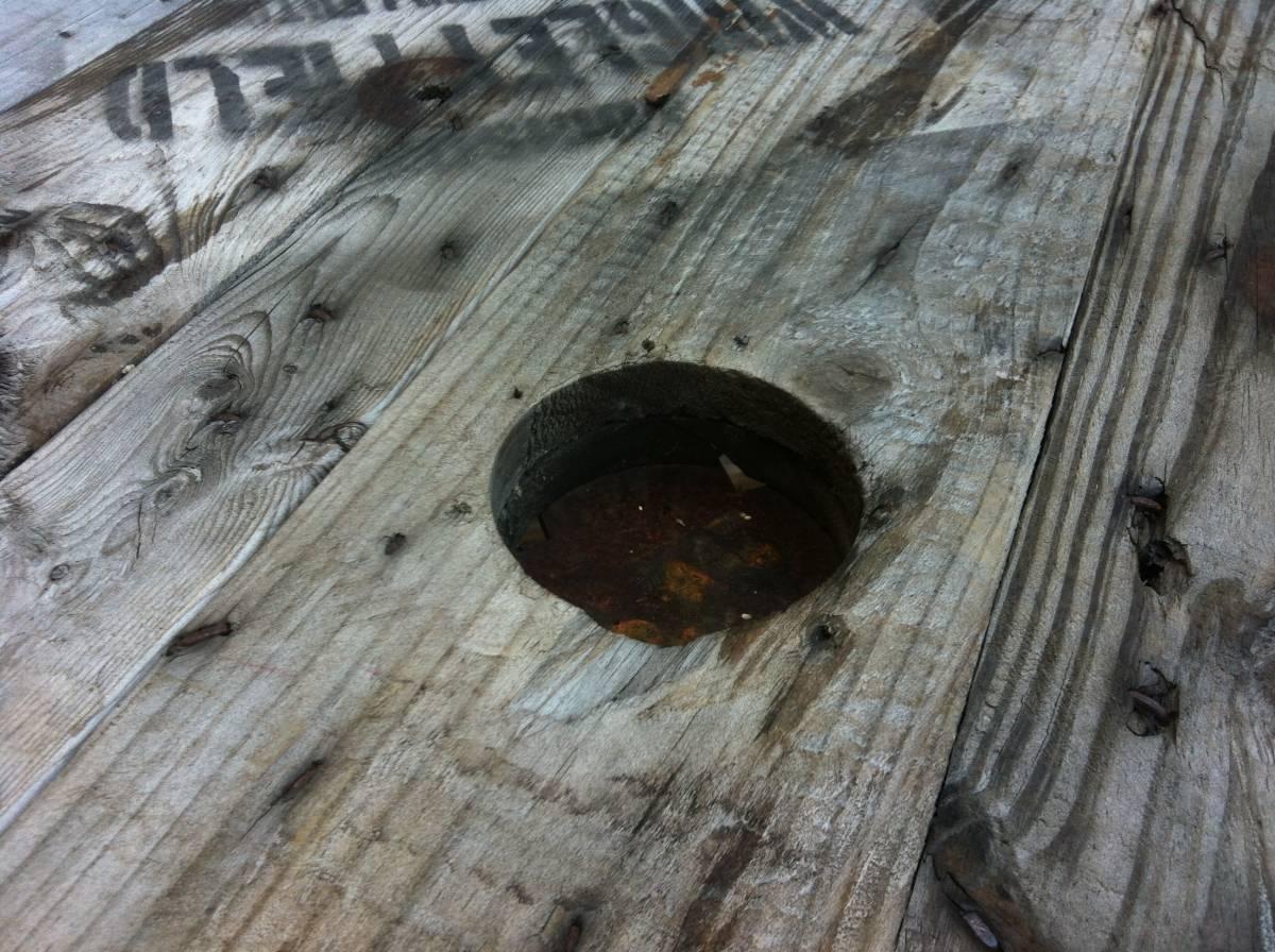 ☆送料無料 アンティーク レトロ カントリー シャビー 調 ガーデン バーテーブル センター カウンターテーブル 店舗 飾り棚 ディスプレイに_画像8
