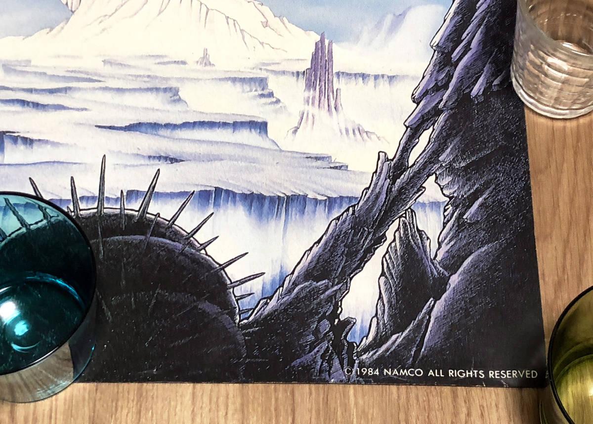 【未貼り】ナムコ ドラゴンバスター DRAGONBUSTER ポスター_画像3