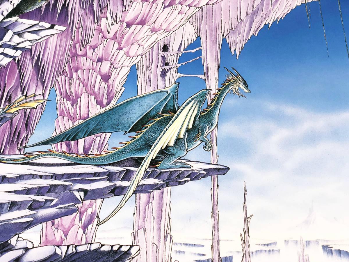 【未貼り】ナムコ ドラゴンバスター DRAGONBUSTER ポスター_画像2