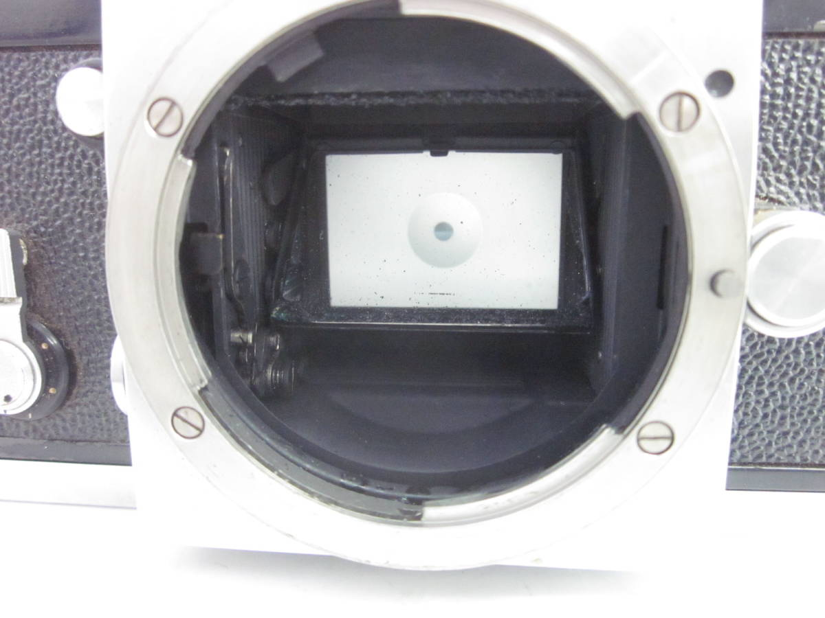 08 78-81817-10 Nikon ニコン F アイレベル 一眼レフ カメラ 1:1.4 f=5.8cm 埼78_画像6