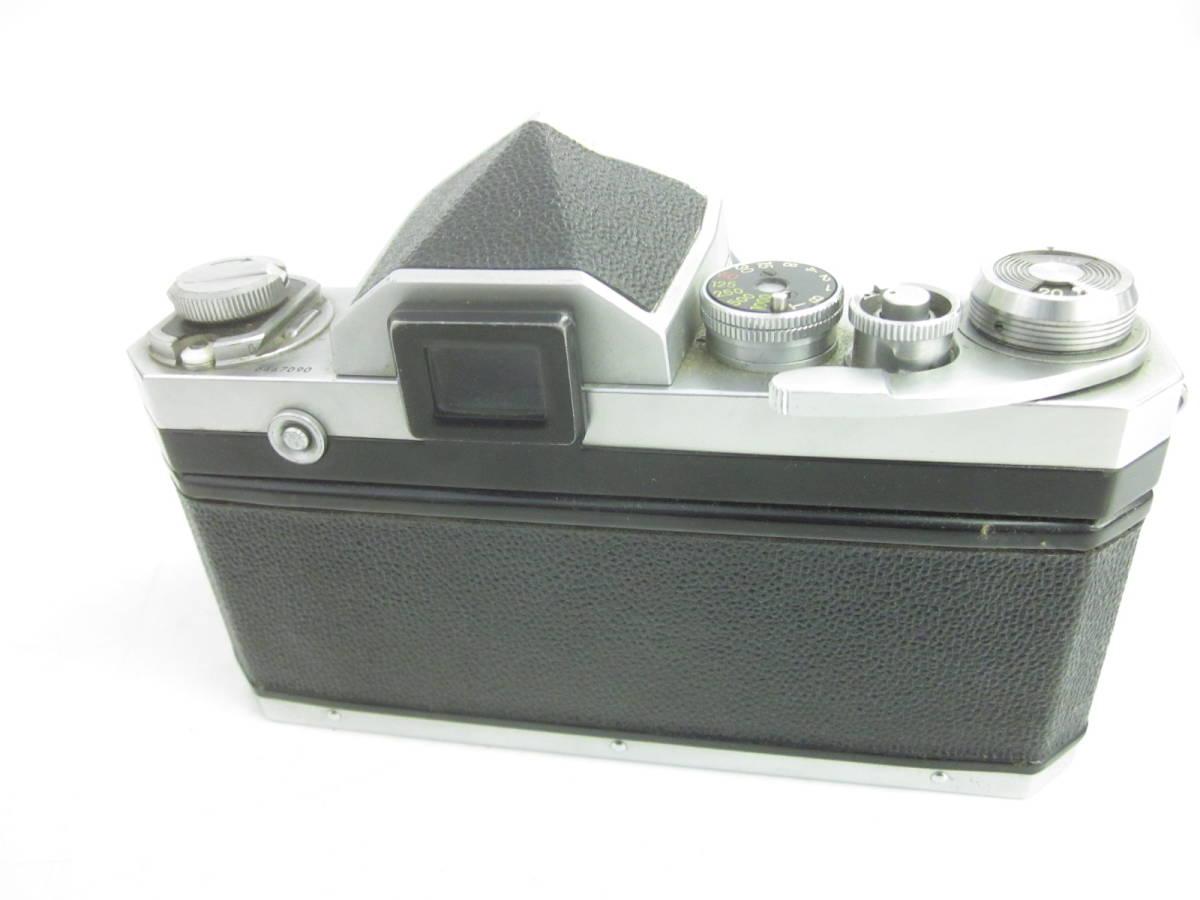 08 78-81817-10 Nikon ニコン F アイレベル 一眼レフ カメラ 1:1.4 f=5.8cm 埼78_画像4