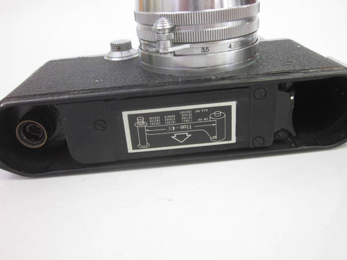 08 78-88964-24 Canon キャノン 4sb フィルムカメラ 50mm f:1.8 付属品あり 埼78_画像5