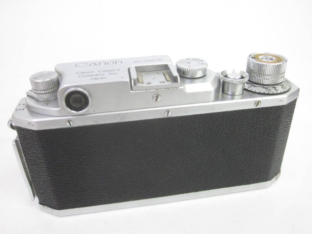 08 78-88964-24 Canon キャノン 4sb フィルムカメラ 50mm f:1.8 付属品あり 埼78_画像4