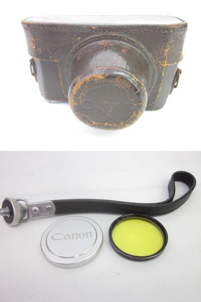 08 78-88964-24 Canon キャノン 4sb フィルムカメラ 50mm f:1.8 付属品あり 埼78_画像10
