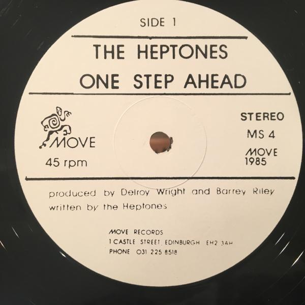 ★Heptones/One Step Ahead★ARETHA FRANKLIN名曲カバー!レア!_画像2