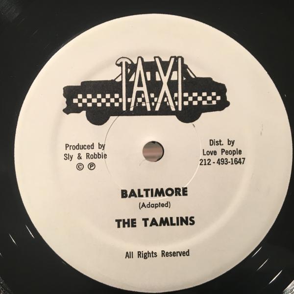 ★Tamlins/Baltimore★哀愁LOVERS ROCK!_画像1