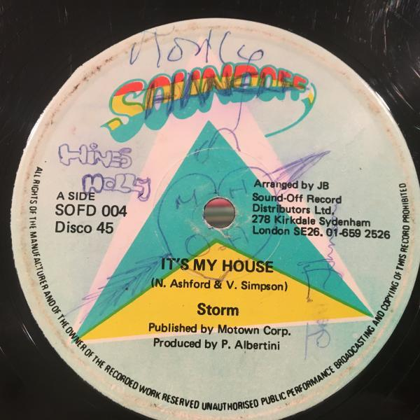 ★Storm/It's My House★人気ラバーズ!DUB付12!_画像1