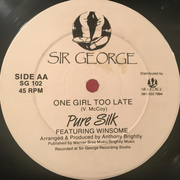 ★Pure Silk Featuring Winsome/One Girl Too Late★アーバンLOVERS & R&B!_画像1