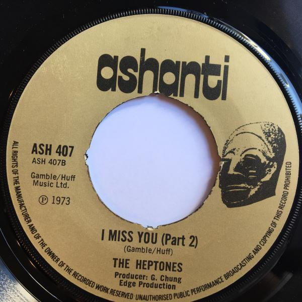 ★Heptones/I Miss You★LOVERS ROCK!_画像2
