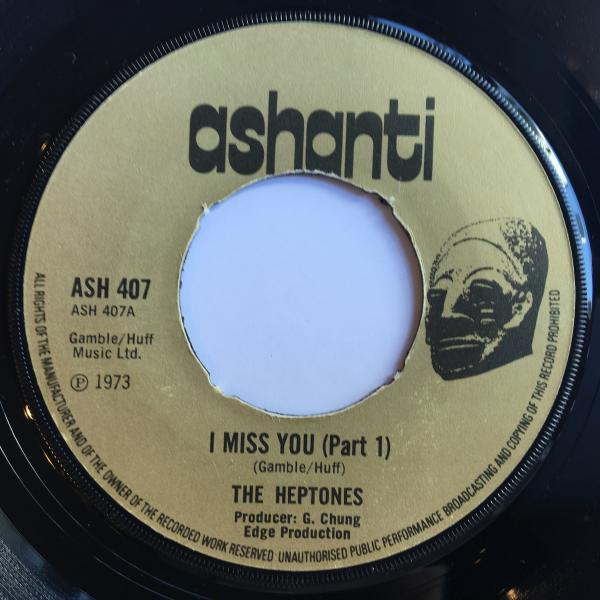 ★Heptones/I Miss You★LOVERS ROCK!